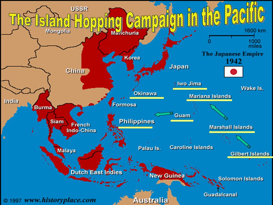 The Island Hopping Campaign in the Pacific