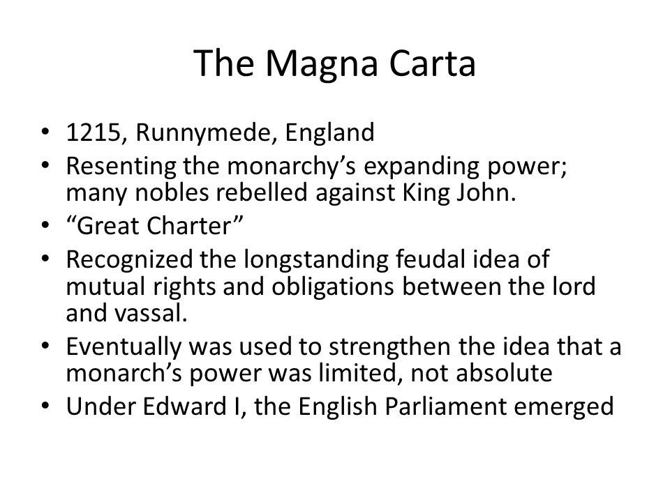 The Magna Carta 1215, Runnymede, England