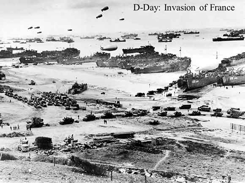 D-Day: Invasion of France