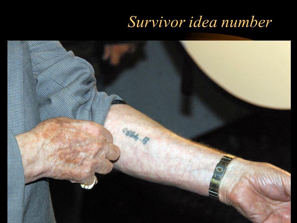 Survivor idea number