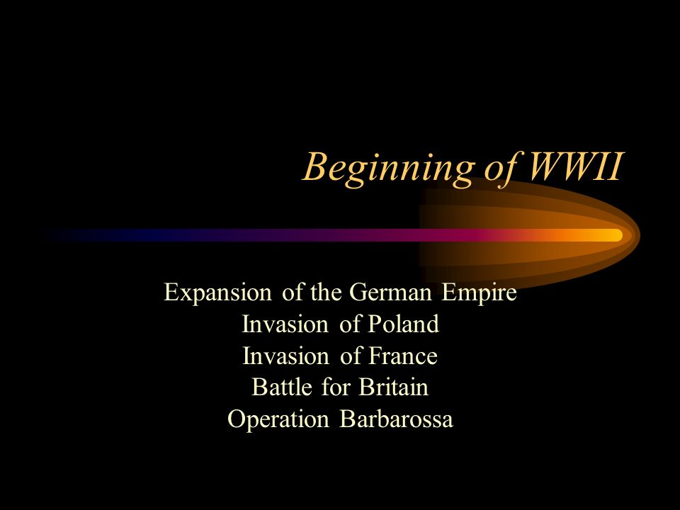 Expansion of the German Empire