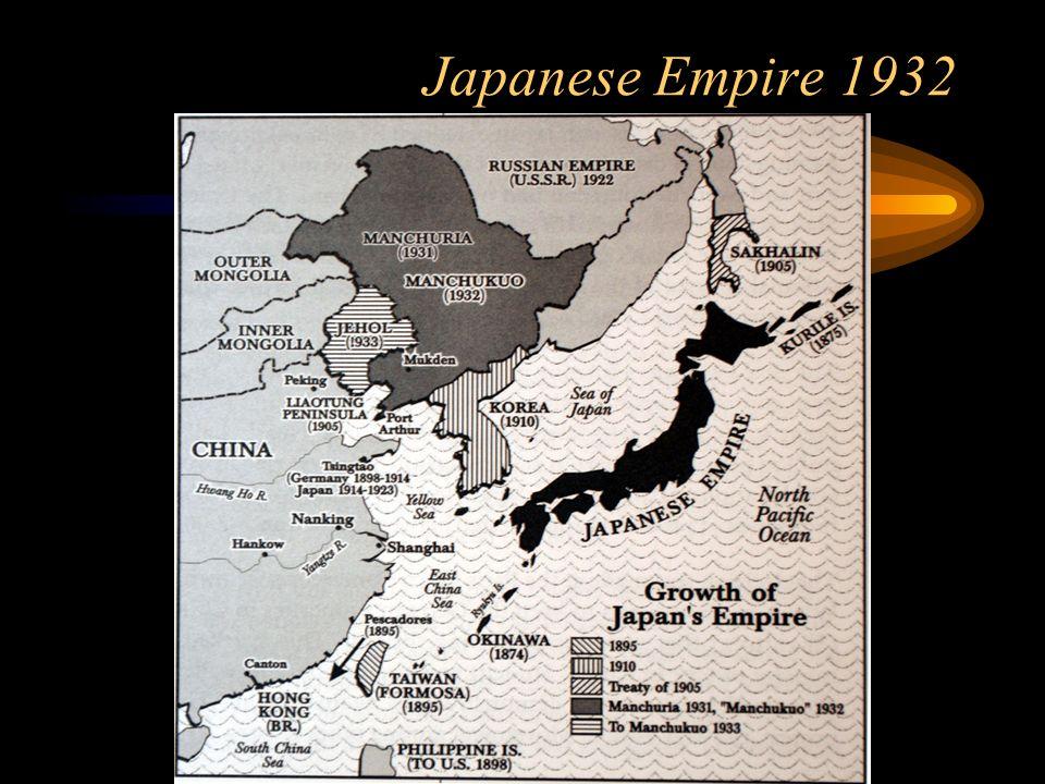 Japanese Empire 1932