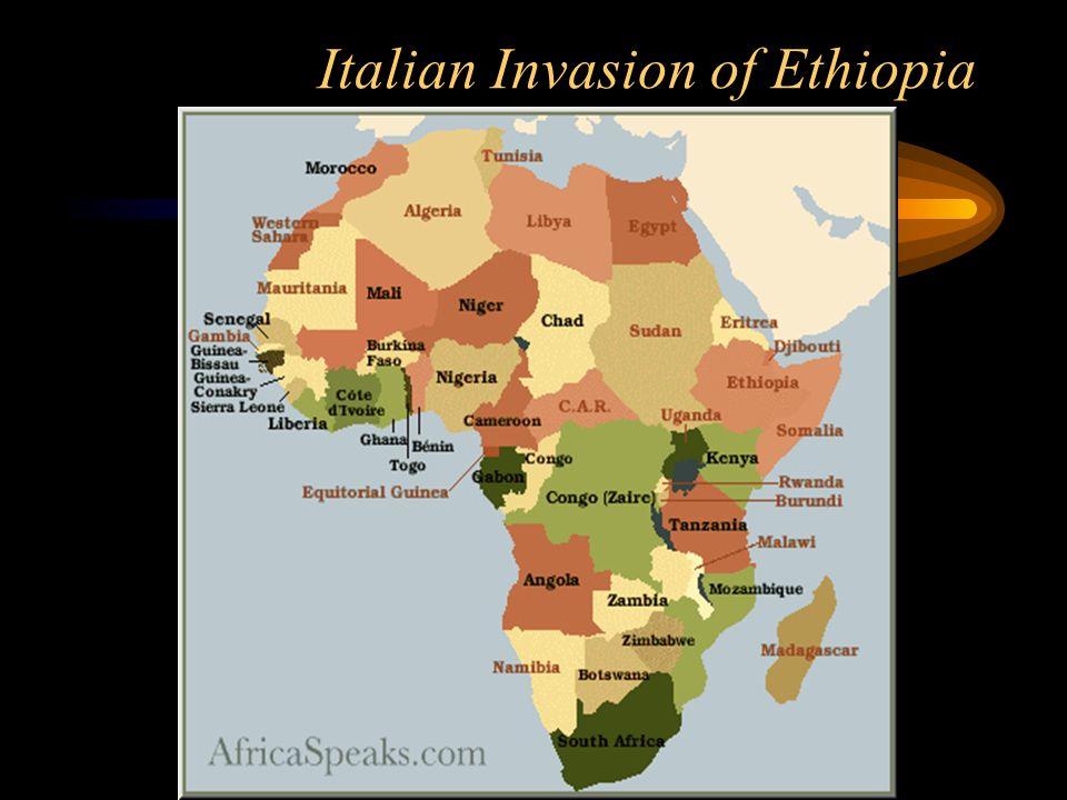 Italian Invasion of Ethiopia