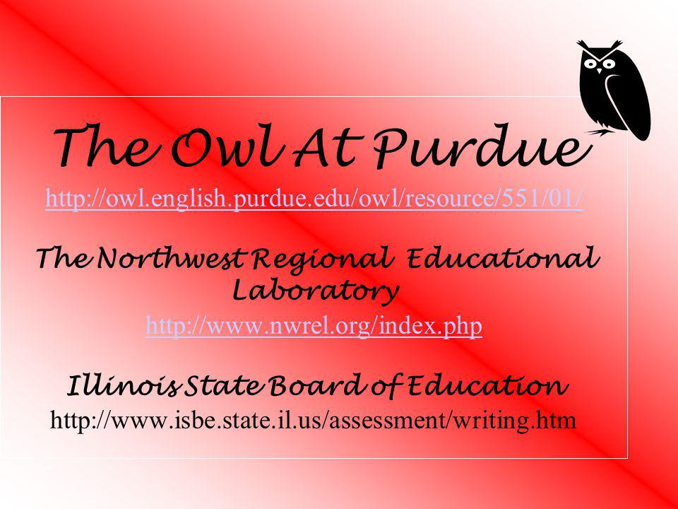 The Owl At Purdue http://owl. english. purdue