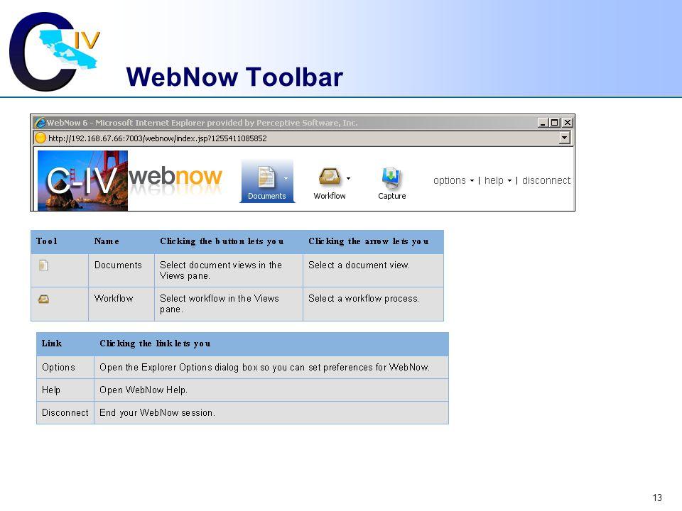 WebNow Toolbar