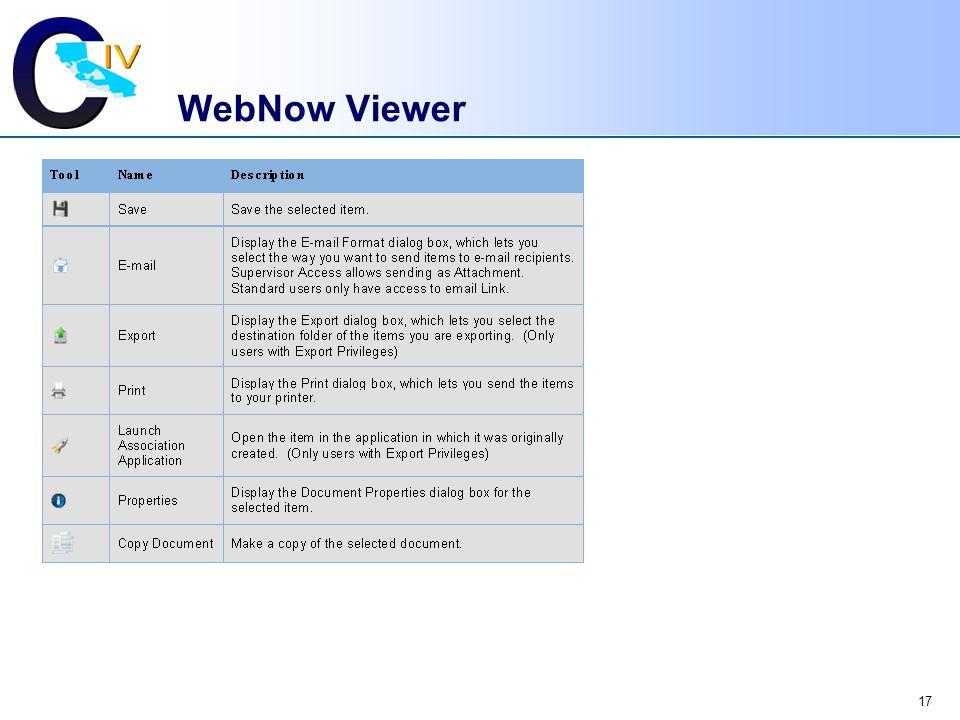 WebNow Viewer