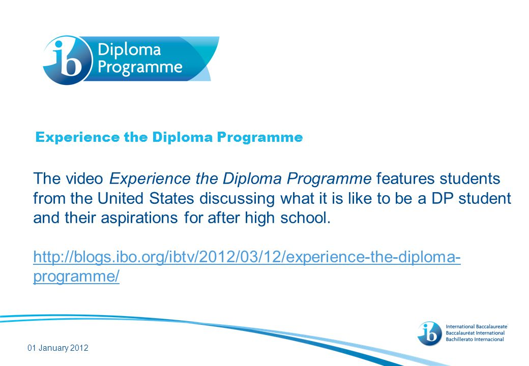 What does research tell us about the Diploma Programme