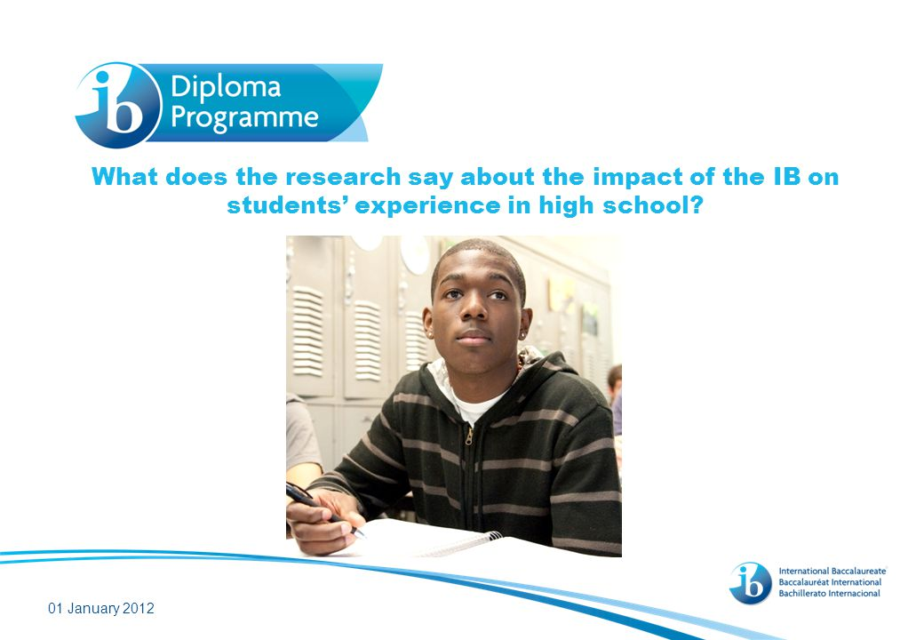 IB students are more engaged in high school