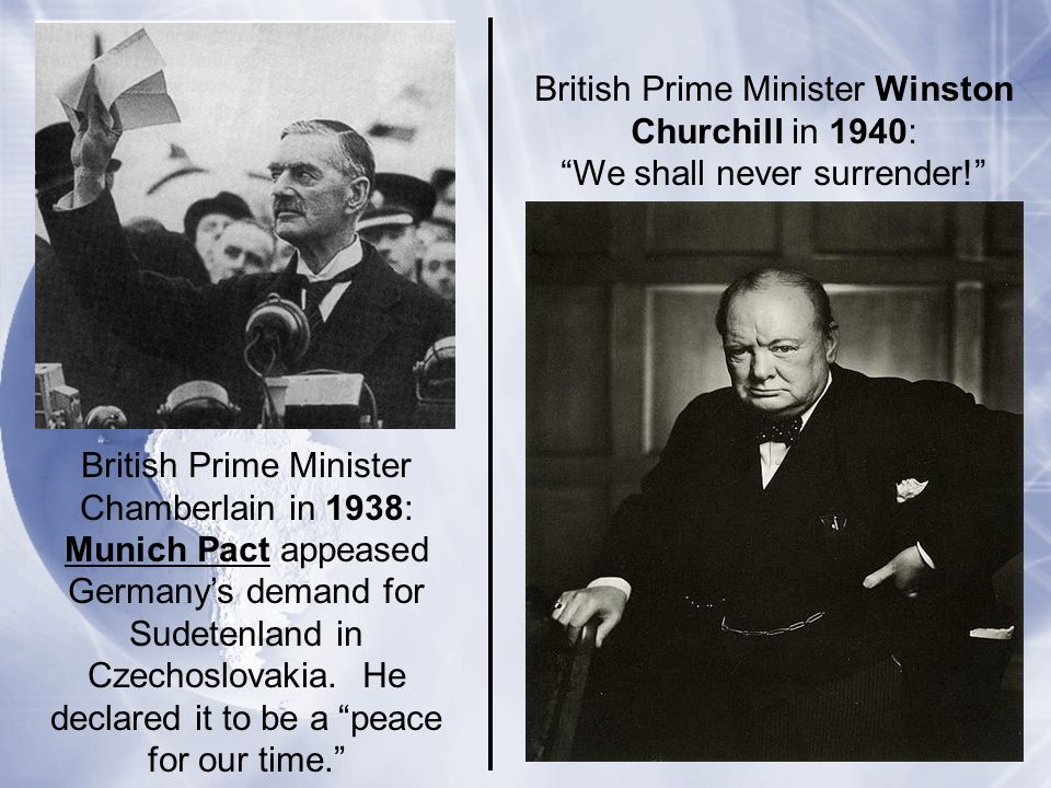 British Prime Minister Winston Churchill in 1940: