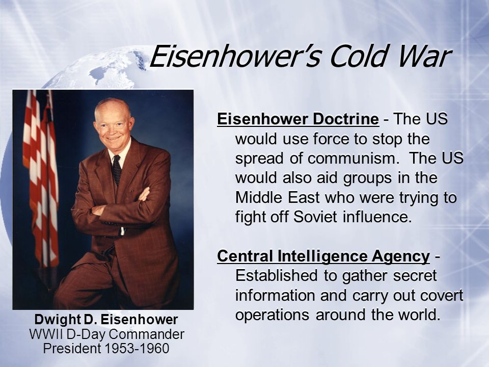 Eisenhower's Cold War