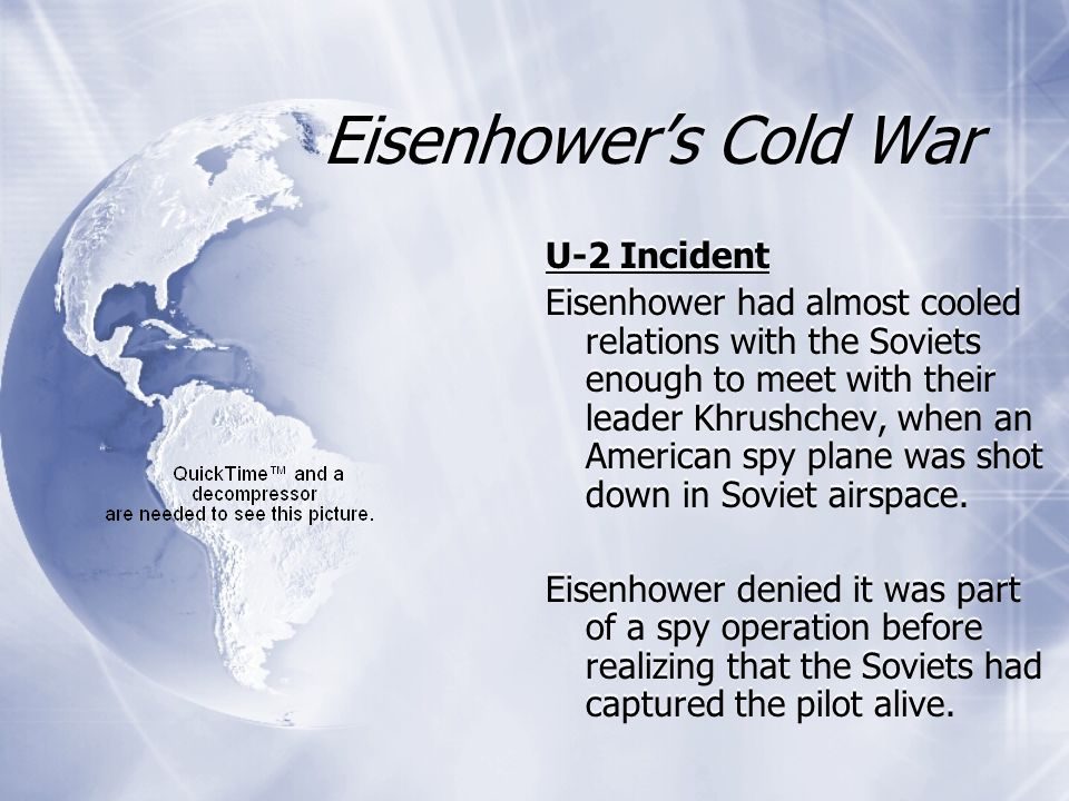 Eisenhower's Cold War U-2 Incident