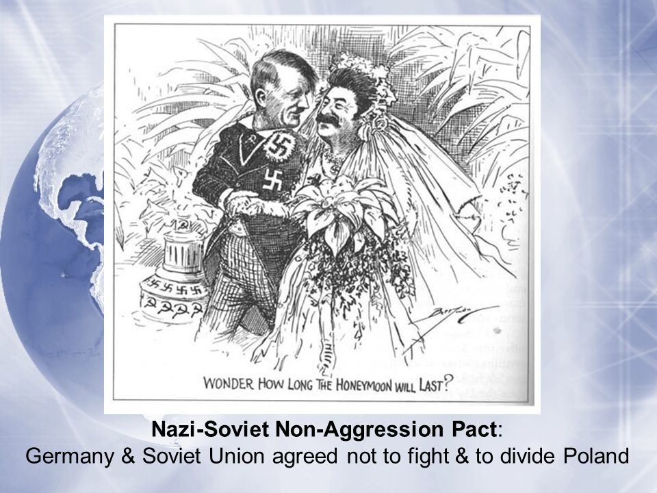 Nazi-Soviet Non-Aggression Pact: