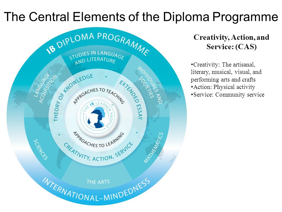 The Central Elements of the Diploma Programme