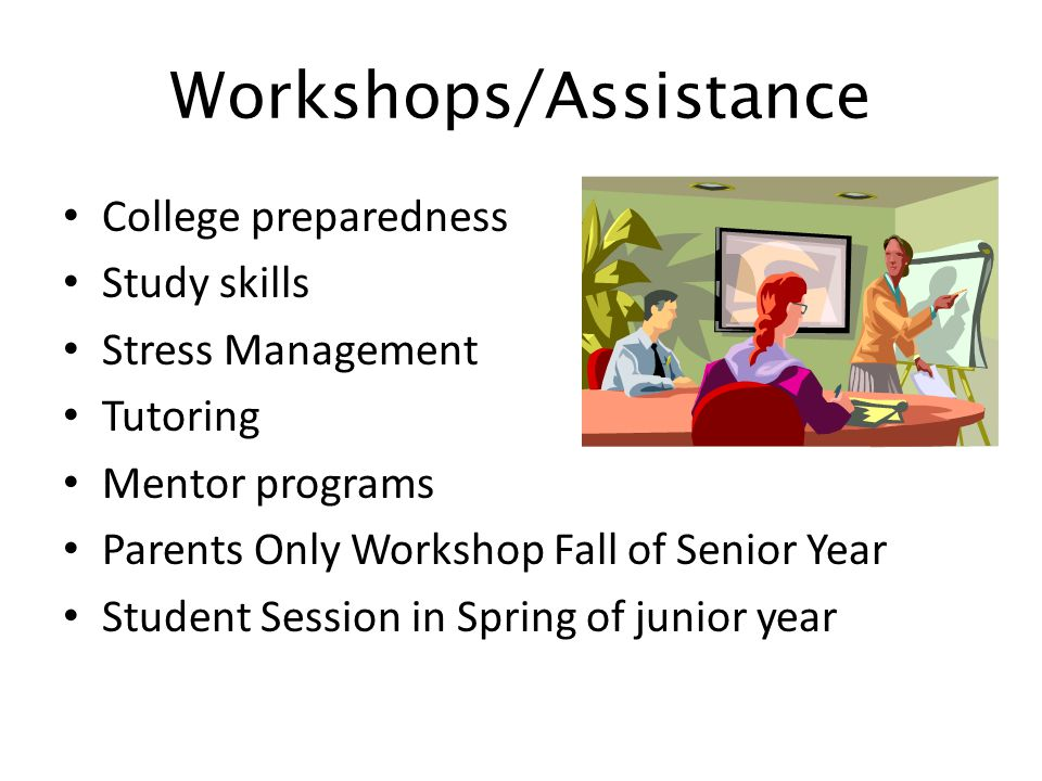 Workshops/Assistance