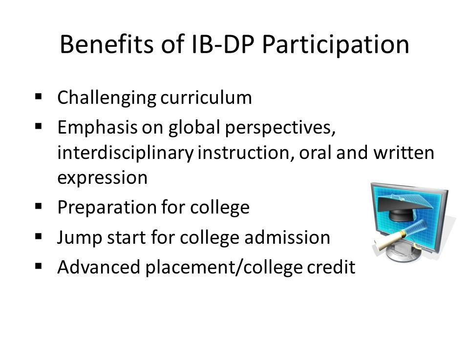 Benefits of IB-DP Participation