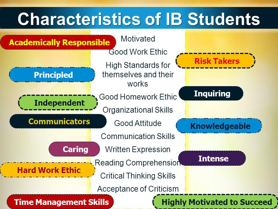Characteristics of IB Students