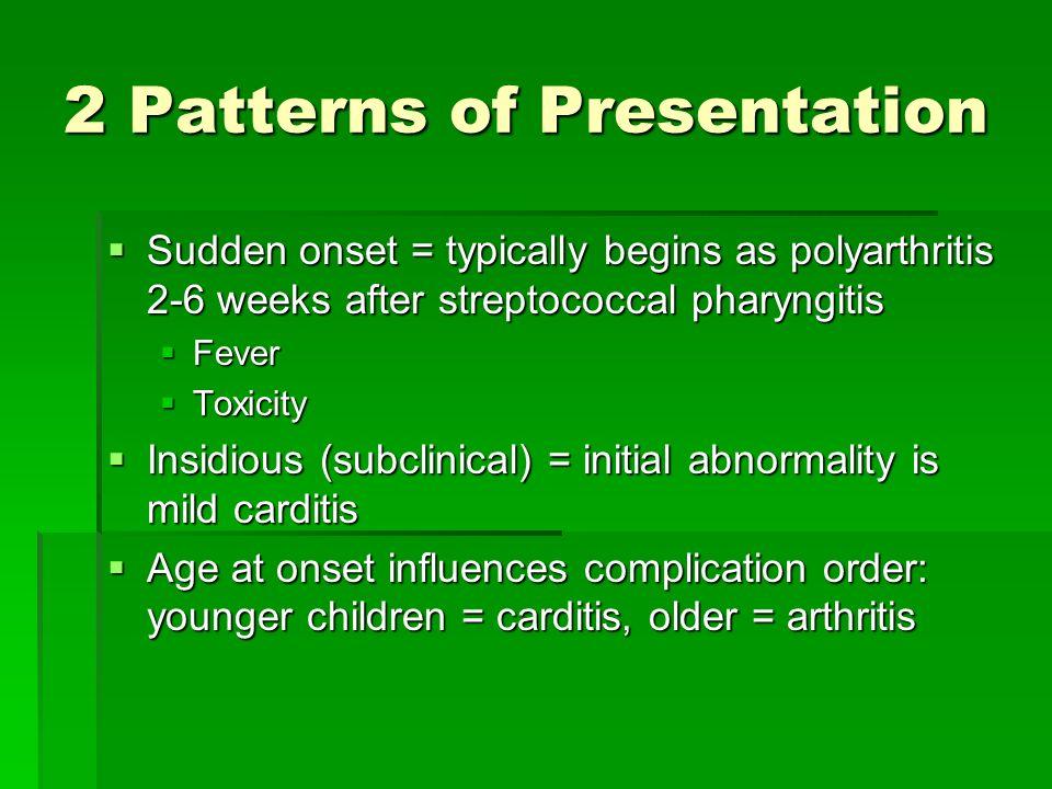 2 Patterns of Presentation