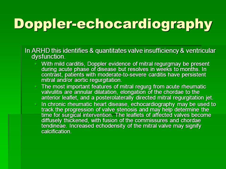 Doppler-echocardiography
