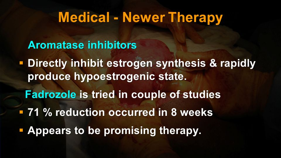 Medical - Newer Therapy
