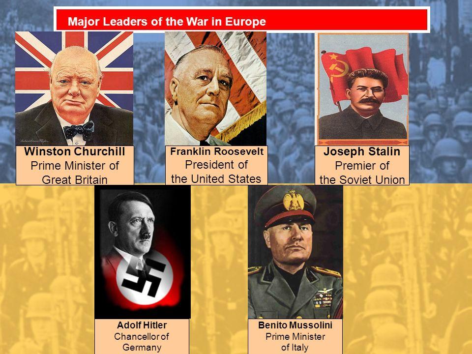 Winston Churchill Joseph Stalin