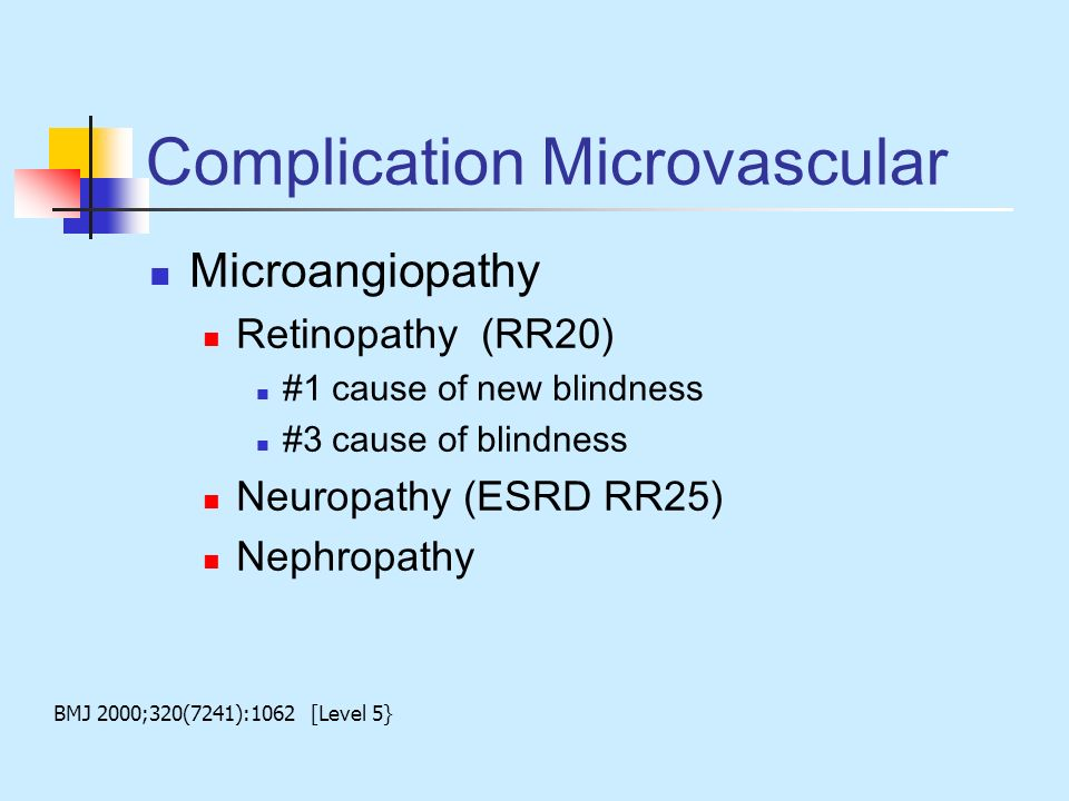 Complication Microvascular