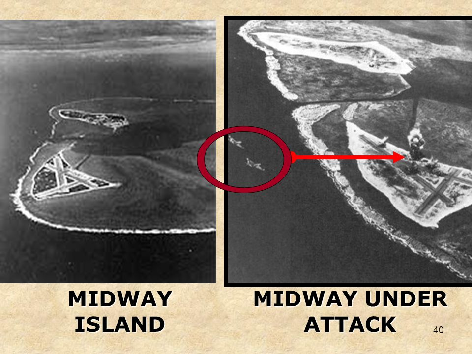 MIDWAY ISLAND MIDWAY UNDER ATTACK