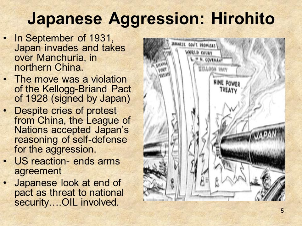 Japanese Aggression: Hirohito