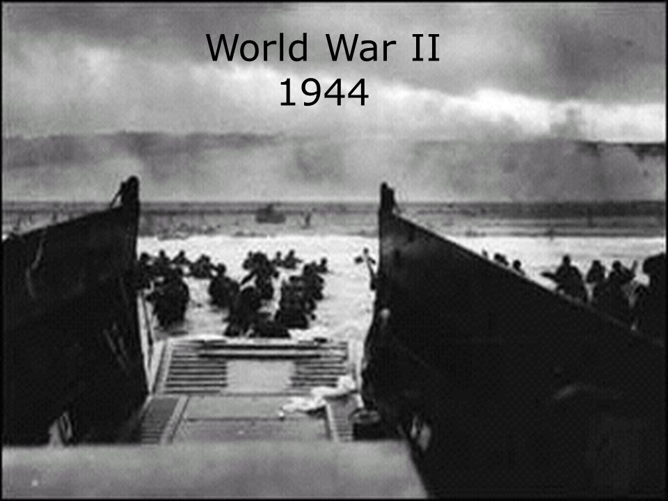 World War II 1944