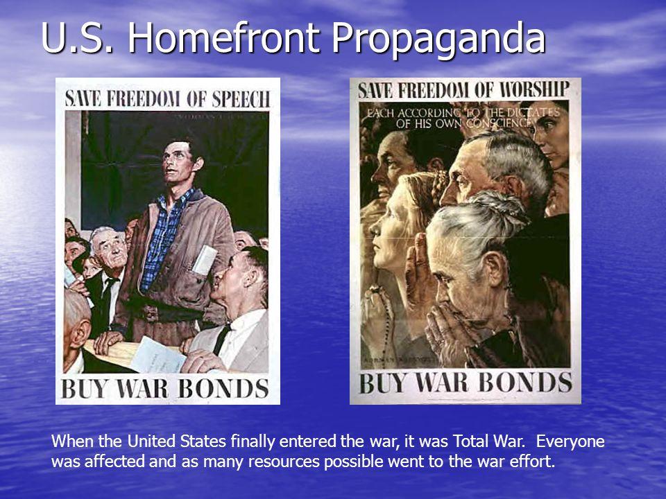 U.S. Homefront Propaganda