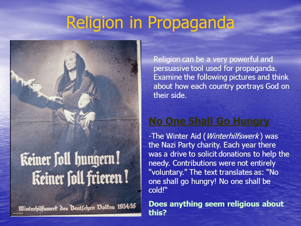 Religion in Propaganda