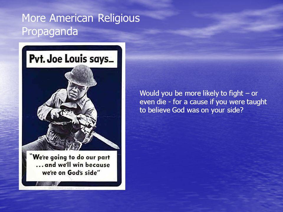 More American Religious Propaganda