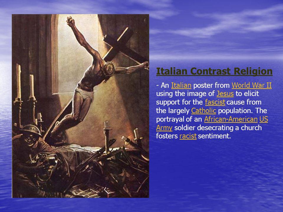 Italian Contrast Religion