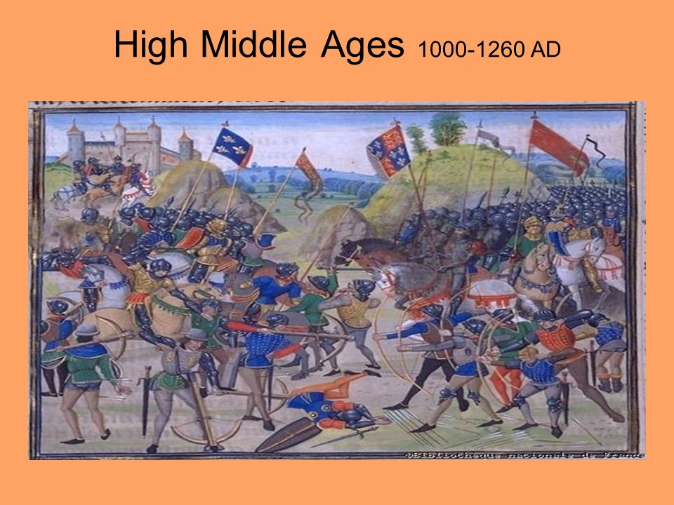 High Middle Ages AD