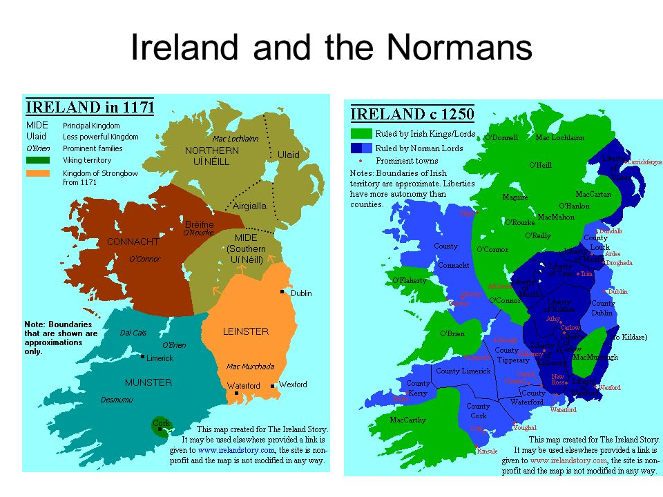 Ireland and the Normans
