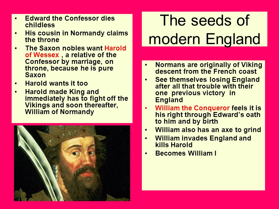 The seeds of modern England