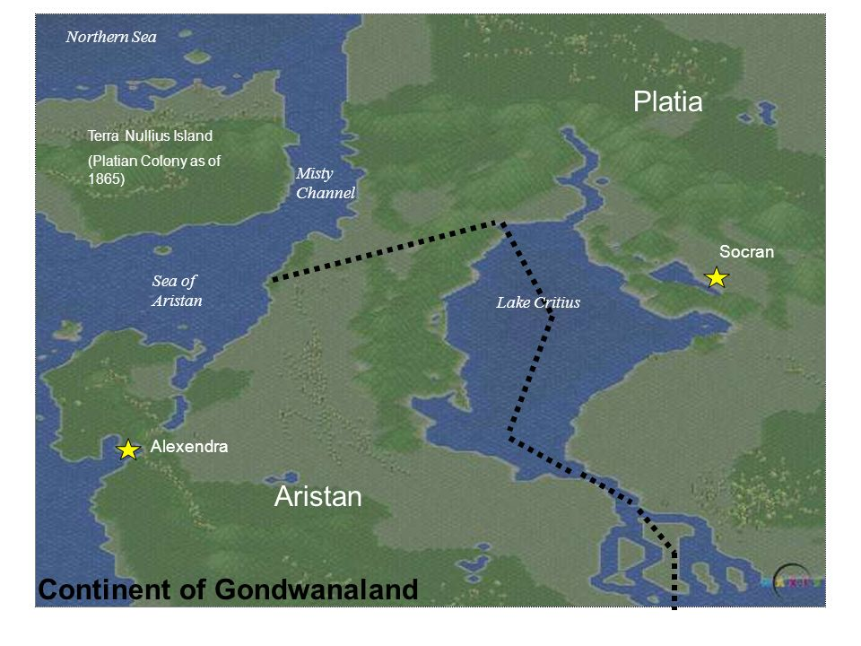 Continent of Gondwanaland