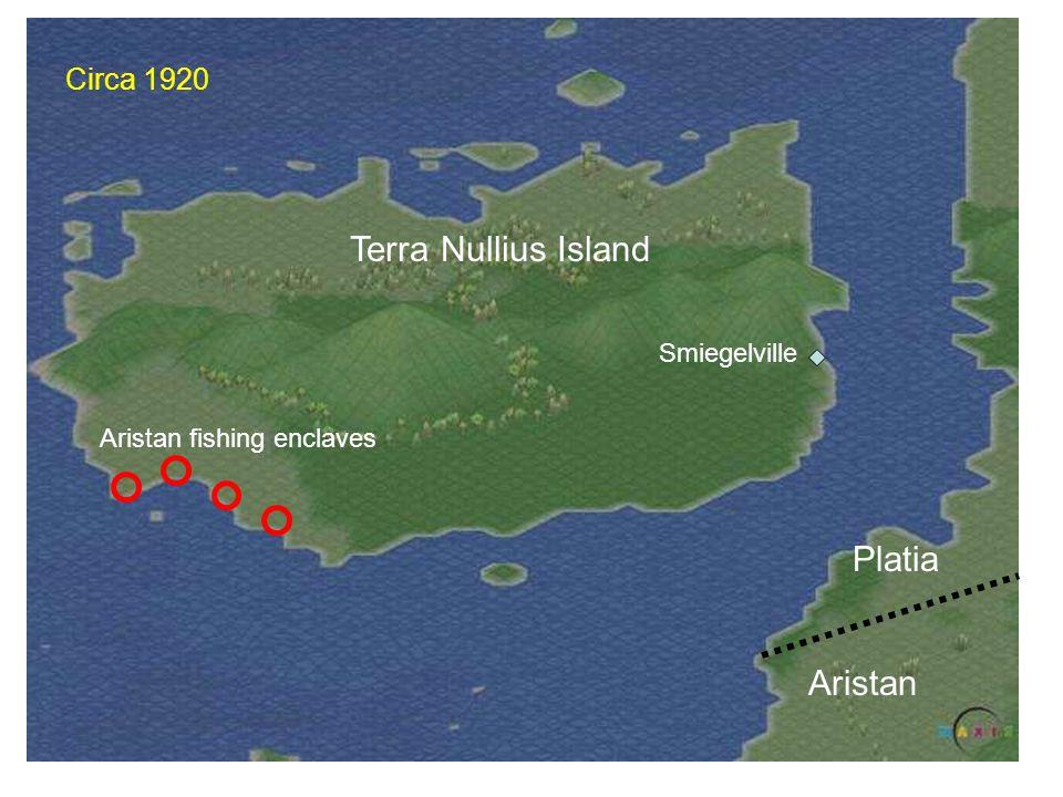 Terra Nullius Island Platia Aristan Circa 1920 Smiegelville
