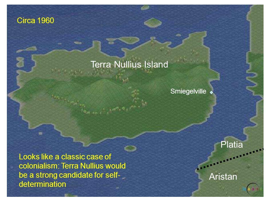 Terra Nullius Island Platia Aristan Circa 1960