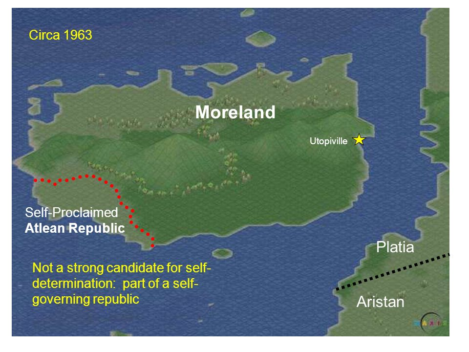 Moreland Platia Aristan Circa 1963 Self-Proclaimed Atlean Republic