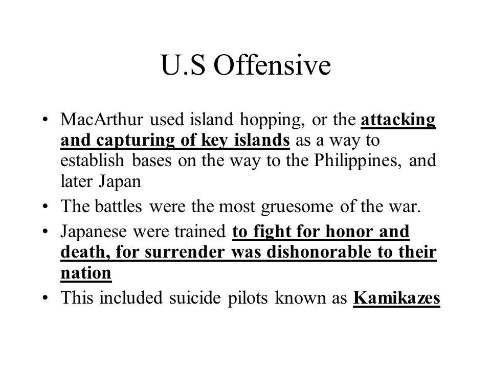 U.S Offensive