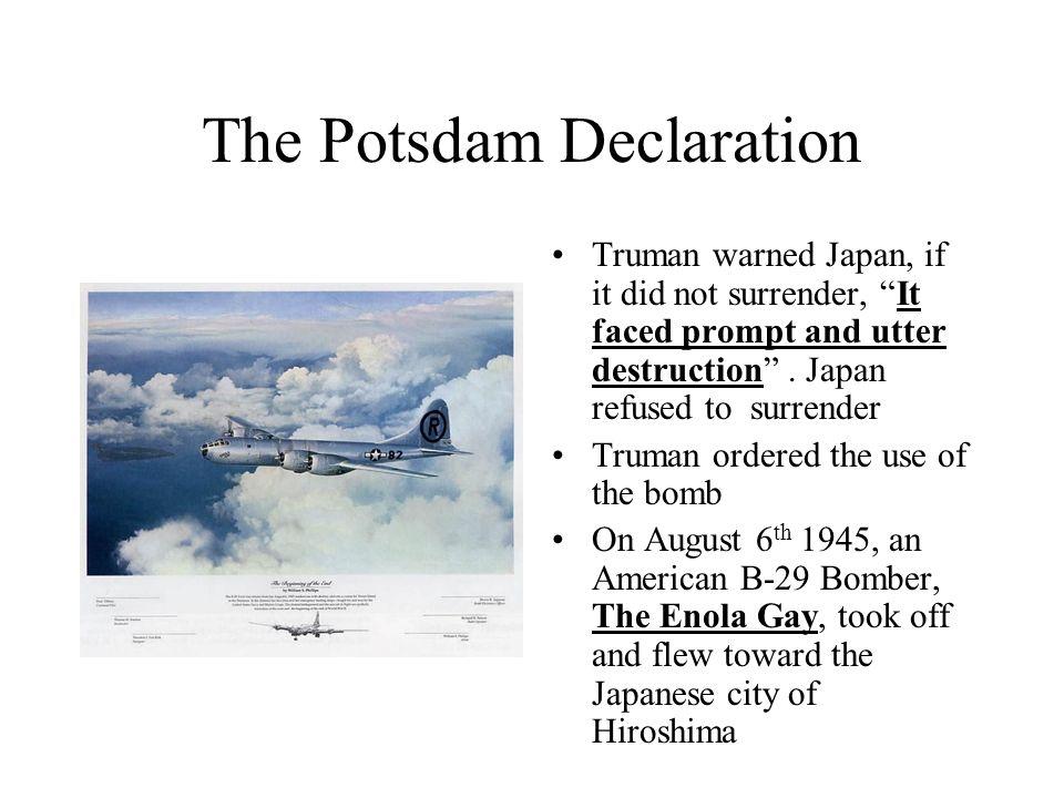 The Potsdam Declaration