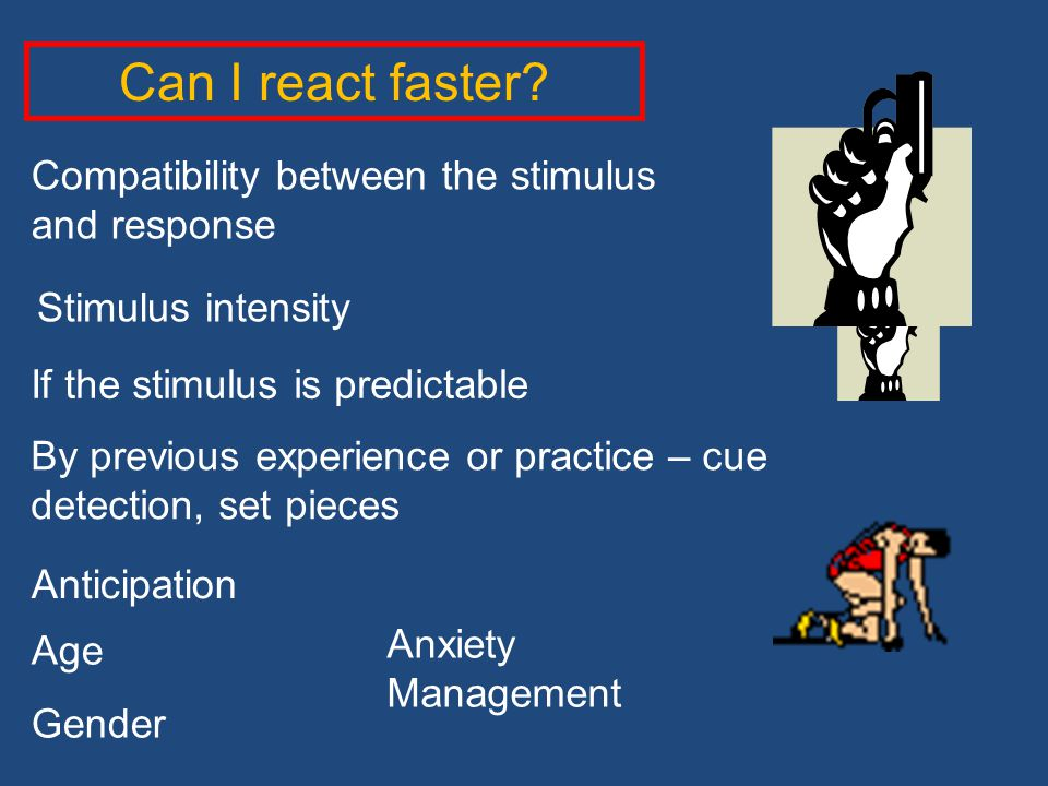 Can I react faster Compatibility between the stimulus and response