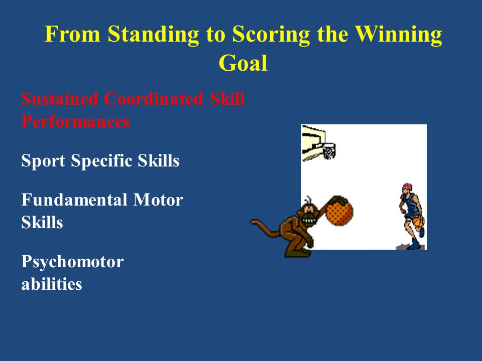 From Standing to Scoring the Winning Goal