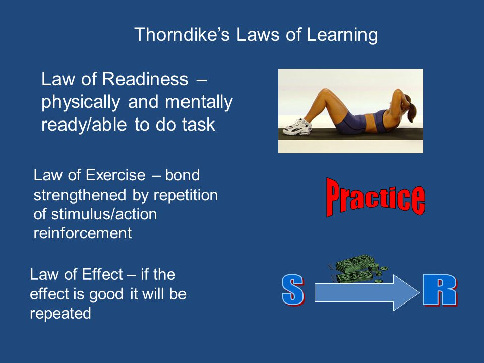 Thorndike's Laws of Learning