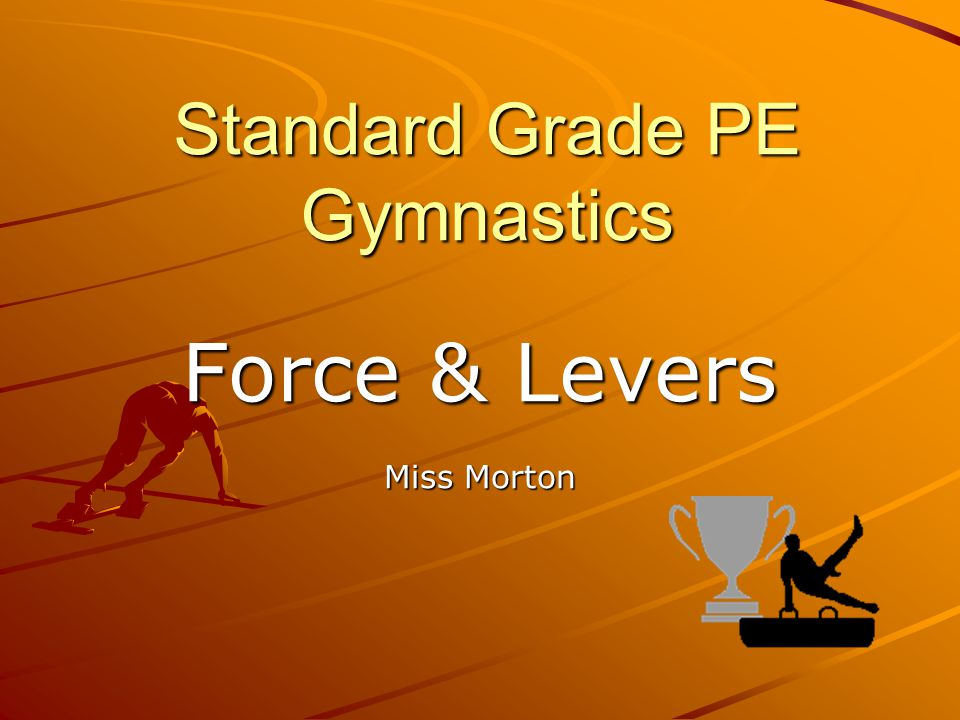 Standard Grade PE Gymnastics