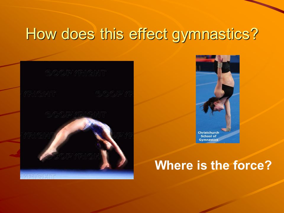 How does this effect gymnastics