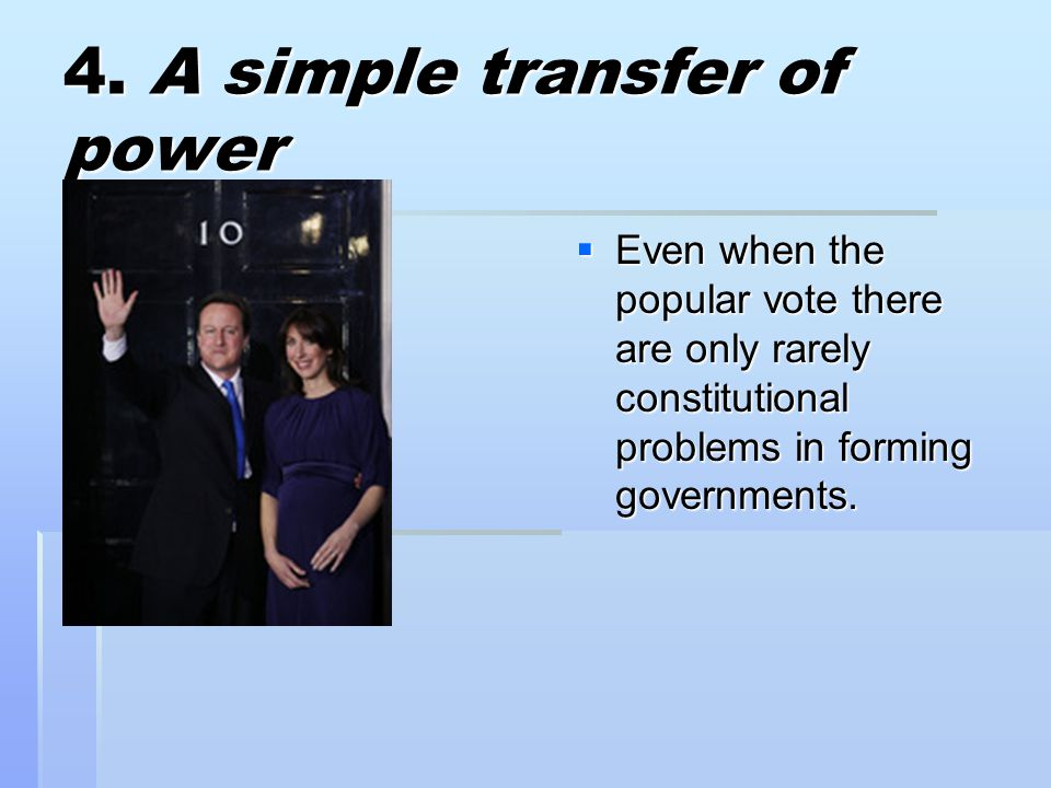 4. A simple transfer of power