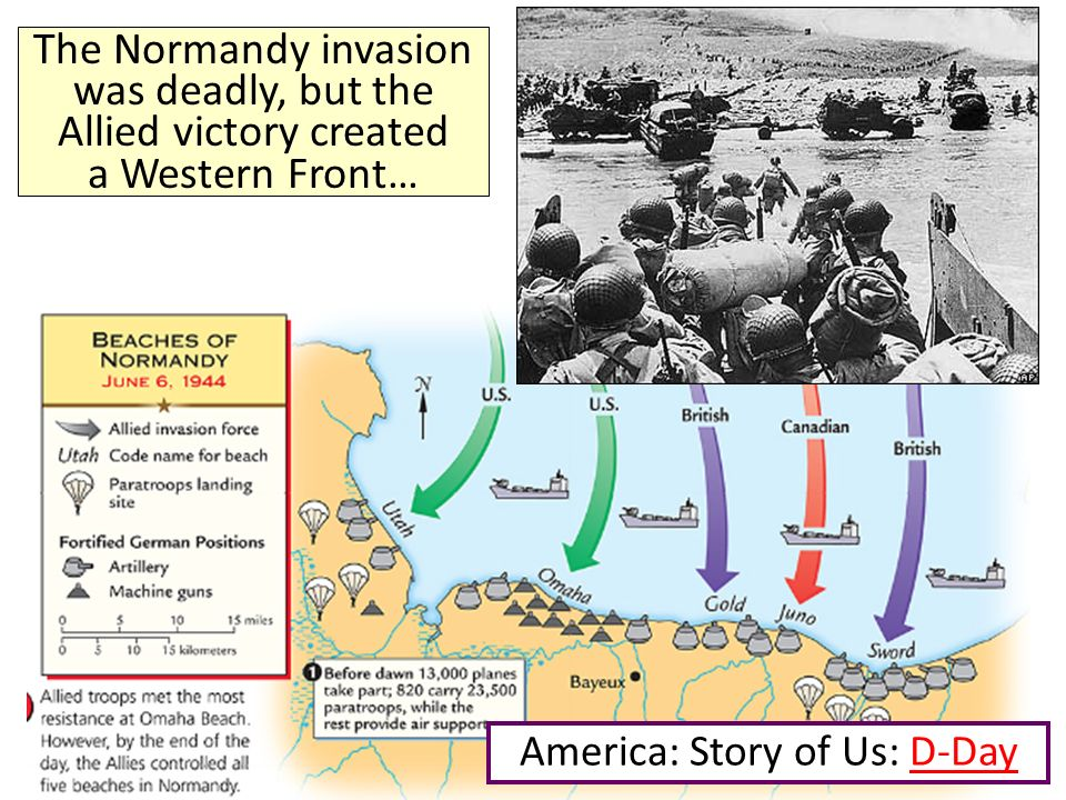 America: Story of Us: D-Day