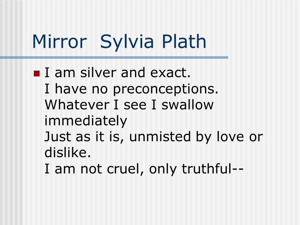 Mirror Sylvia Plath