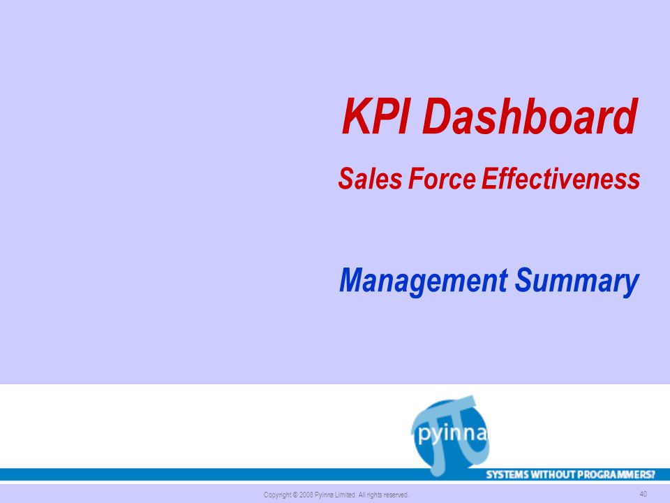 Sales Force Effectiveness